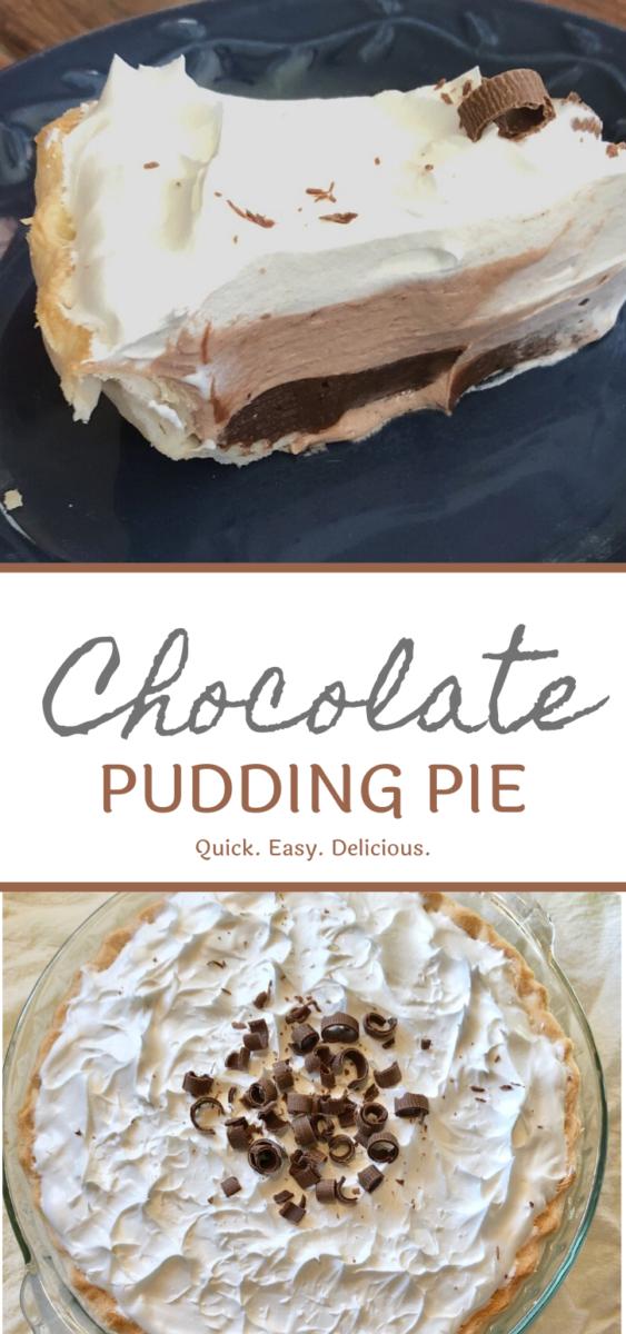 Chocolate Pudding Pie
