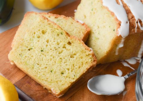 Image: Lemon Zucchini Bread.