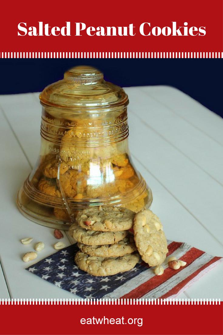 Image: Salted Peanut Cookies.