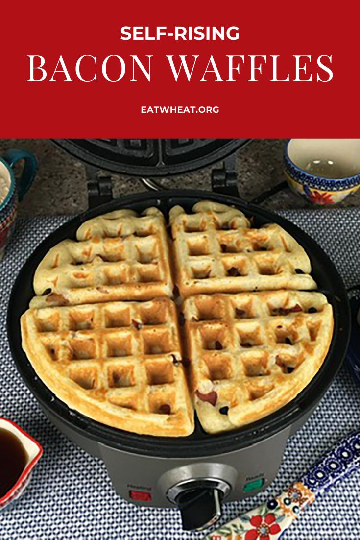 Image: Self-Rising Bacon Waffles.