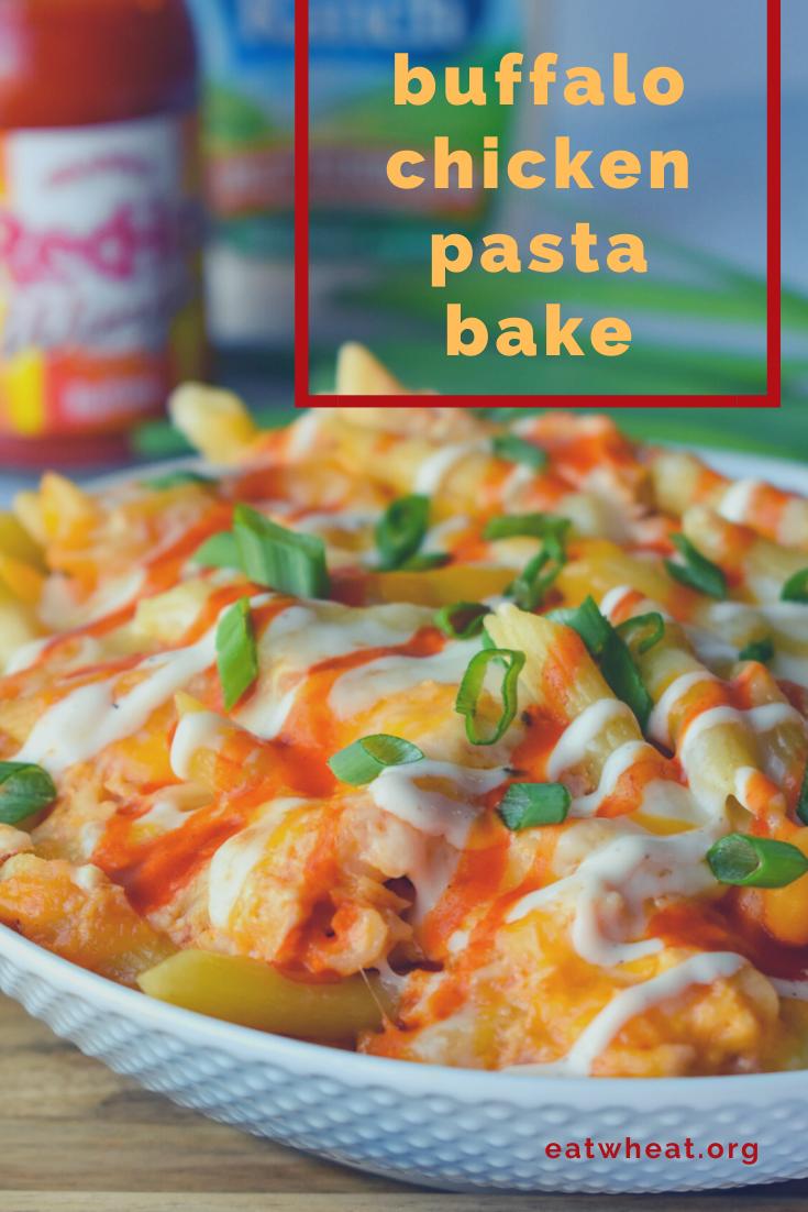 Photo: Buffalo Chicken Pasta Bake.
