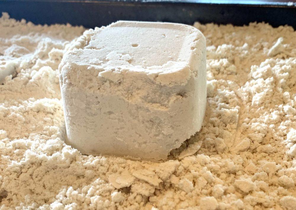 Photo: 2 Ingredient Moon Sand.