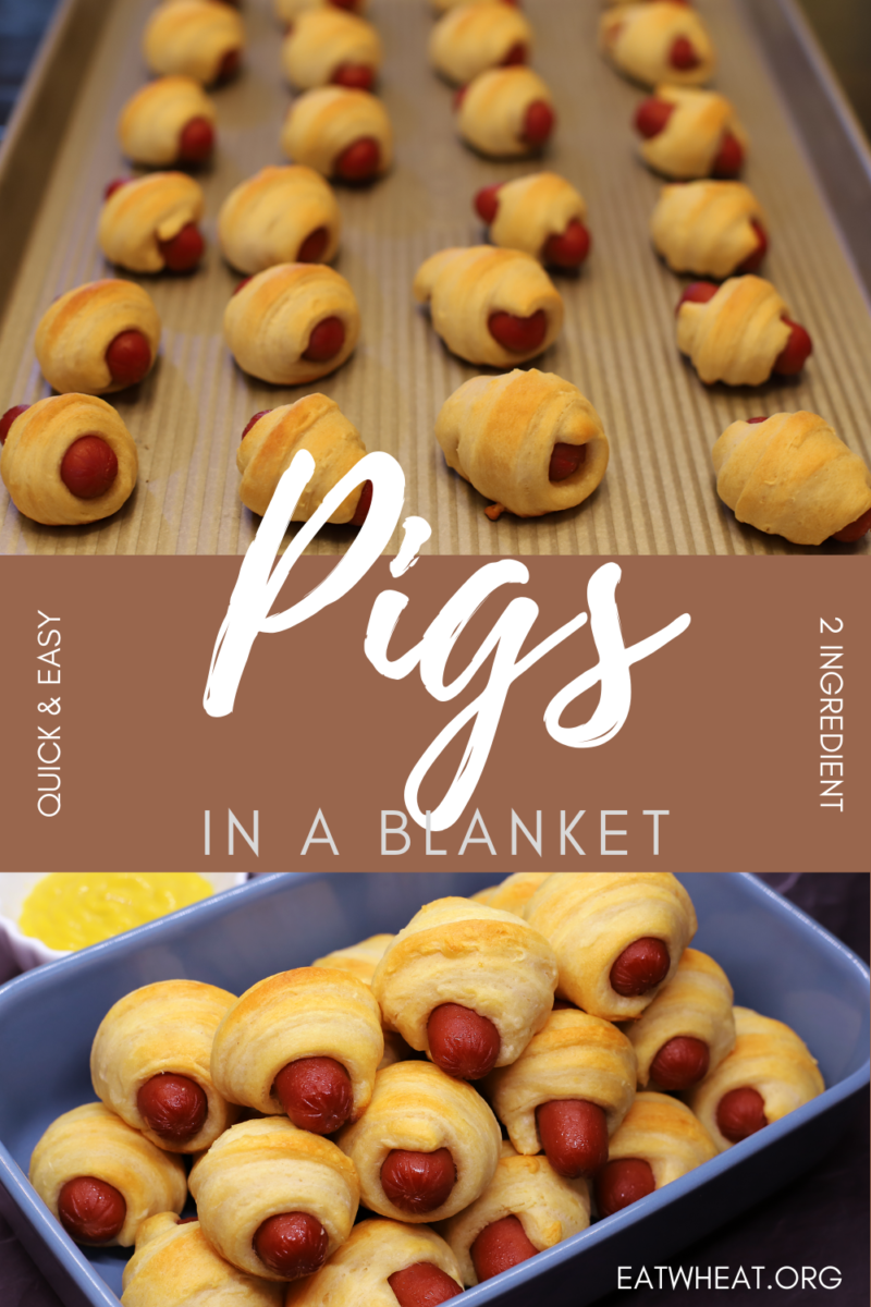 Image: Pigs in a Blanket.