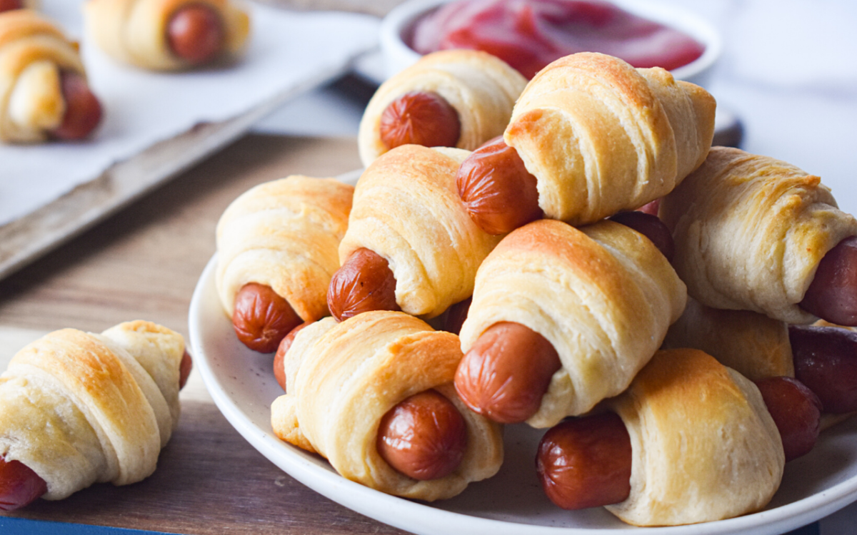 Pigs In A Blanket Little Smokies Crescent Dough Eatwheat Org