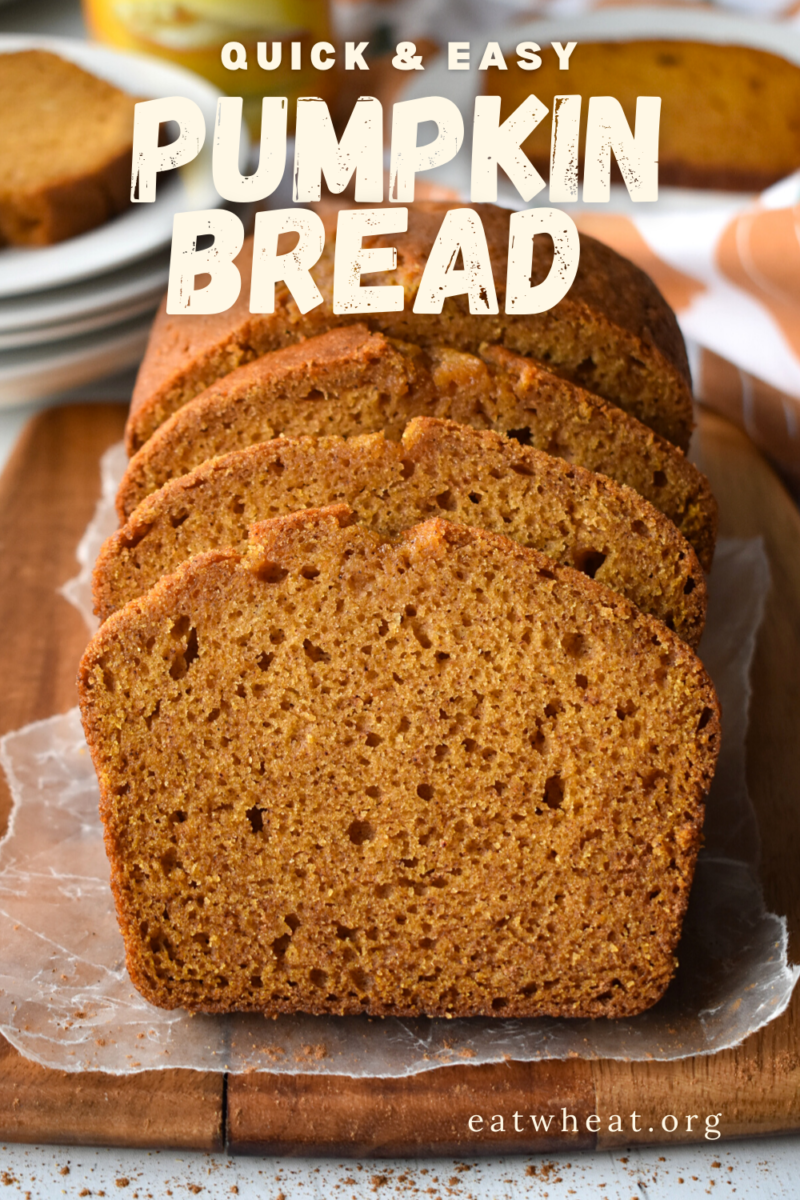 Image: Pumpkin Bread.