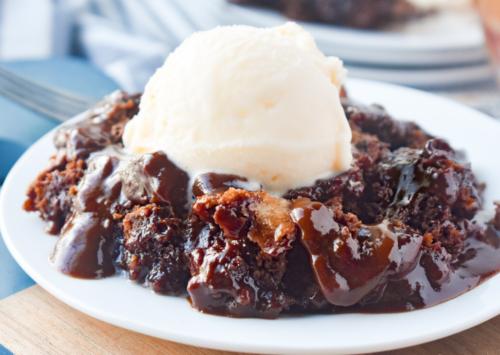 Photo: Chocolate Pudding Cake.