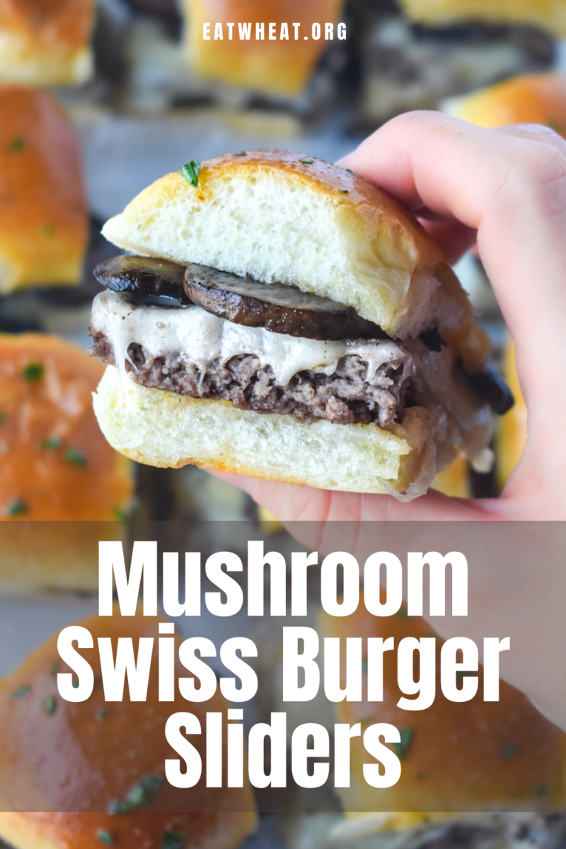 Photo: Mushroom Swiss Burger Sliders.