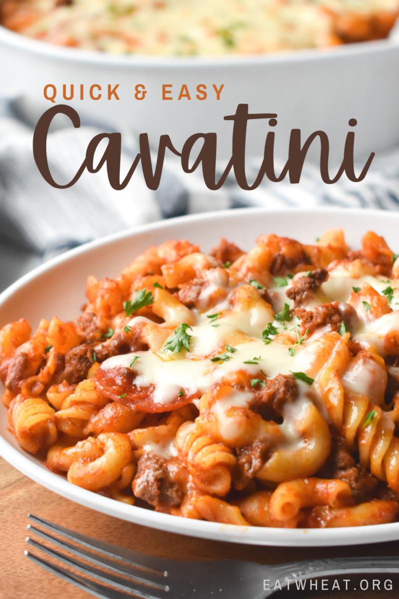 Photo: Quick and Easy Cavatini.