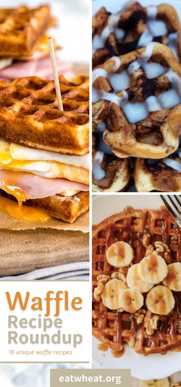 We've got the ultimate round-up of unique waffle recipes from all of your favorite bloggers! From Nashville Hot Chicken and Waffles to one of the best breakfast sandwiches you'll ever eat, you'll love these recipes!