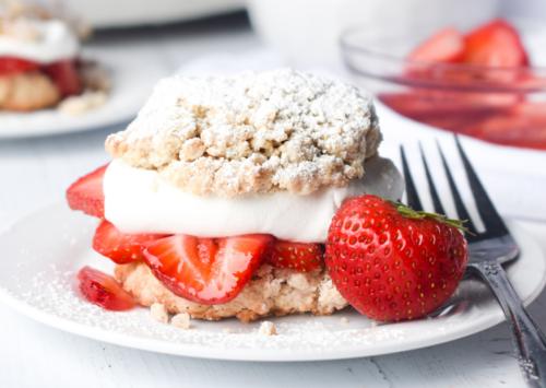 Photo: Strawberry Shortcake.