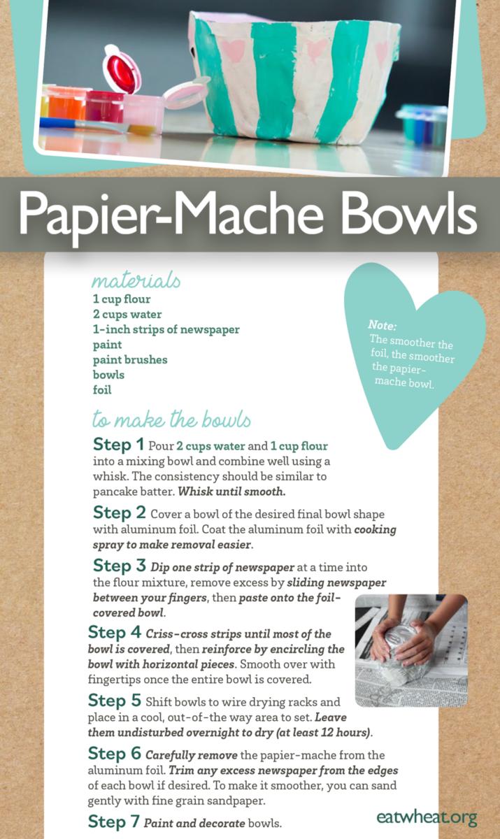 Image: Papier-Mache Bowls.