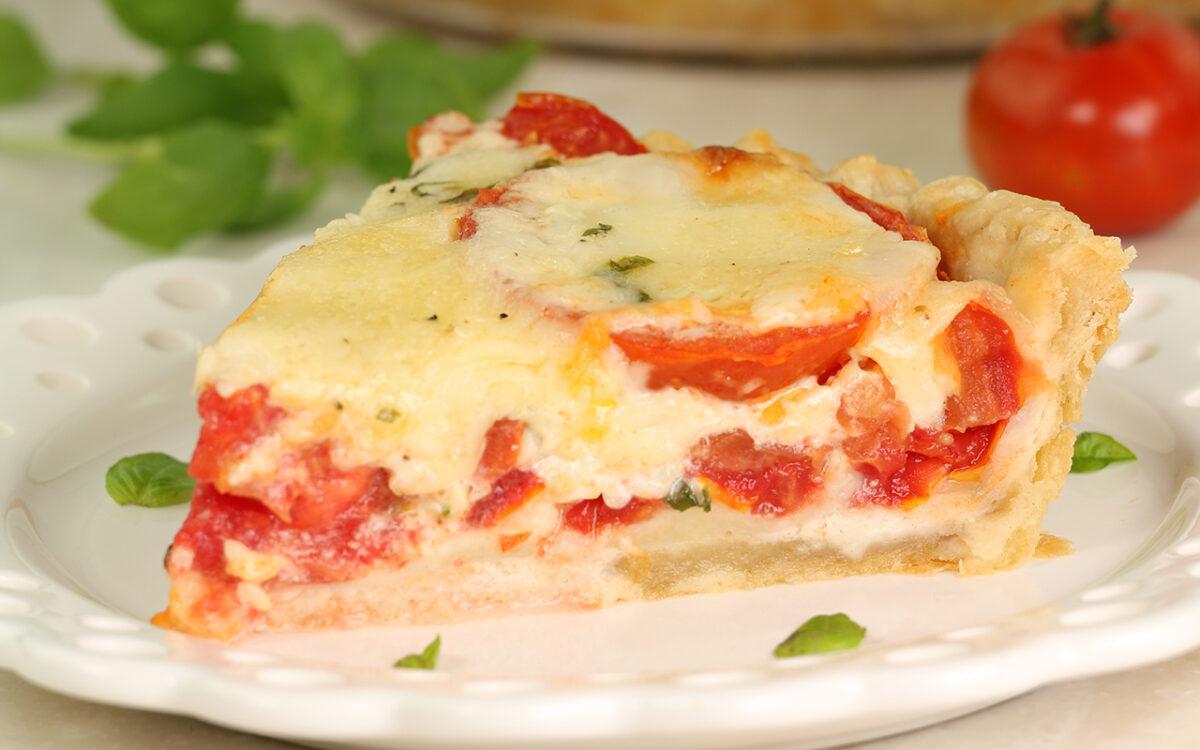 Savory Tomato-Bacon Pie