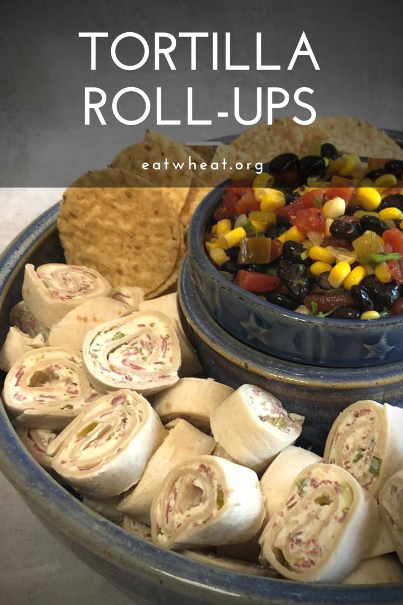 Photo: Tortilla Roll-ups.