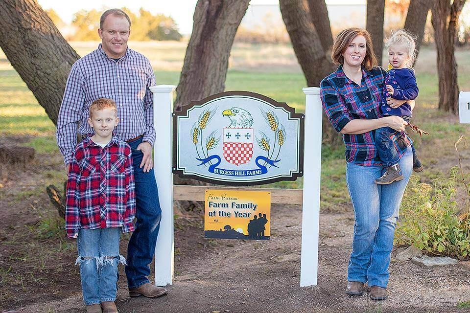 Photo: Burgess Family.