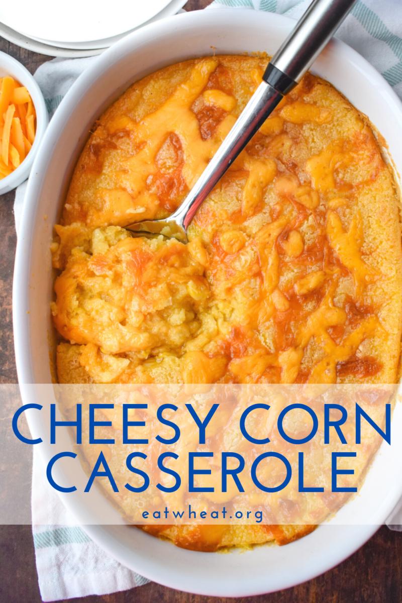 Photo: Cheesy Corn Casserole.