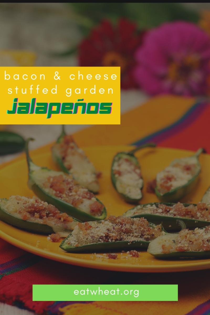Bacon and Cheese Stuffed Garden Jalapeños