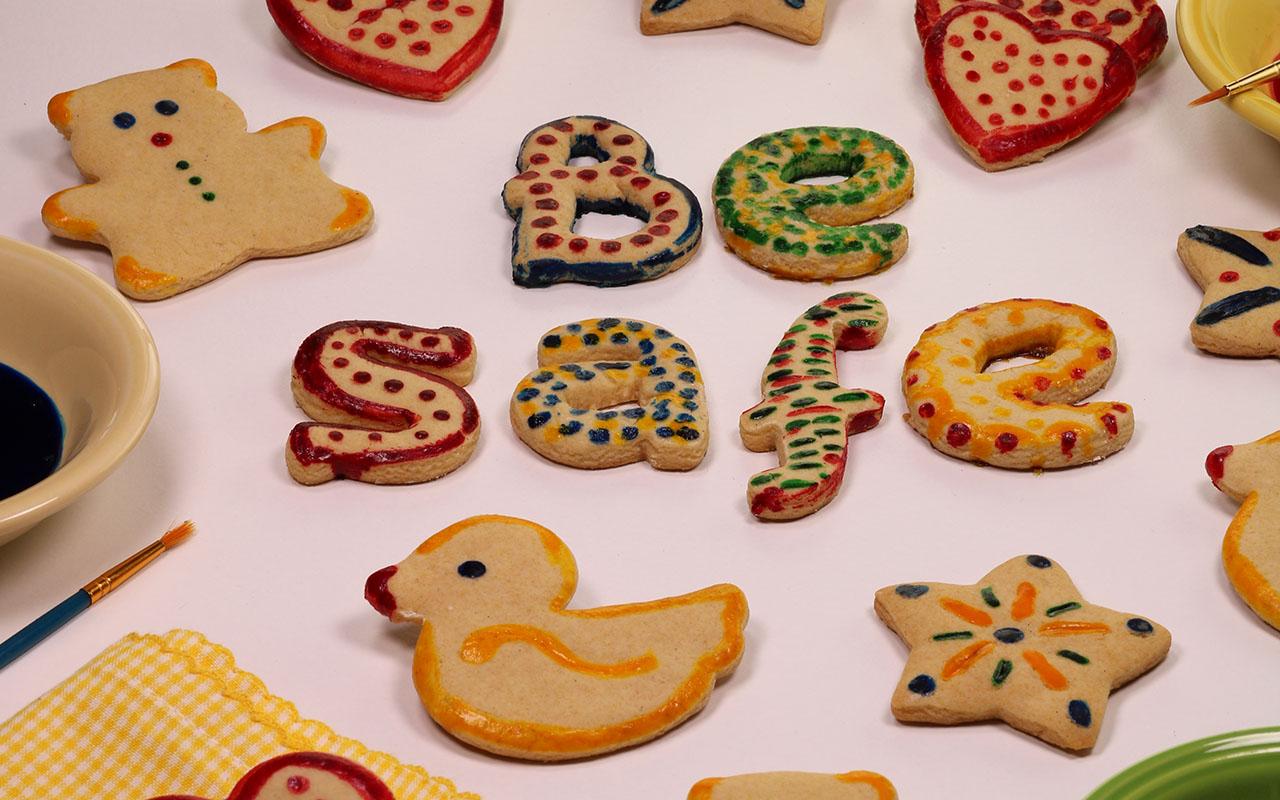Fun Paintbrush Cookies