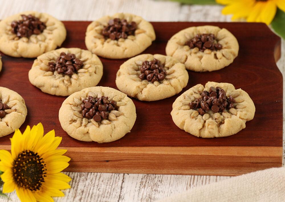 Sunflower Blossom Cookies