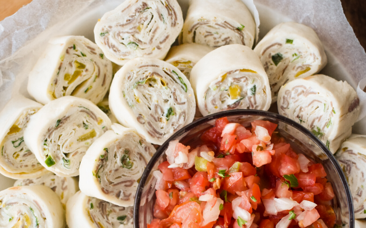 Image: Tortilla Roll Ups.