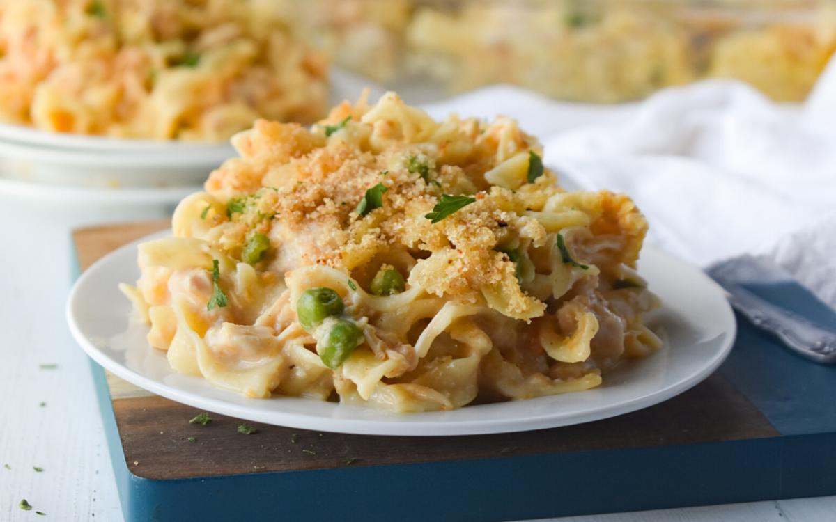 Image: Chicken Noodle Casserole.