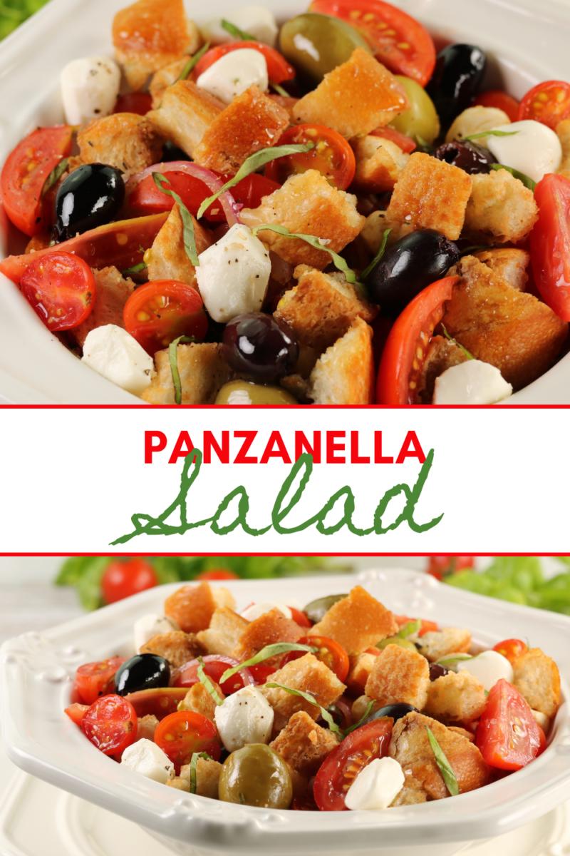 Image: Panzanella Salad.