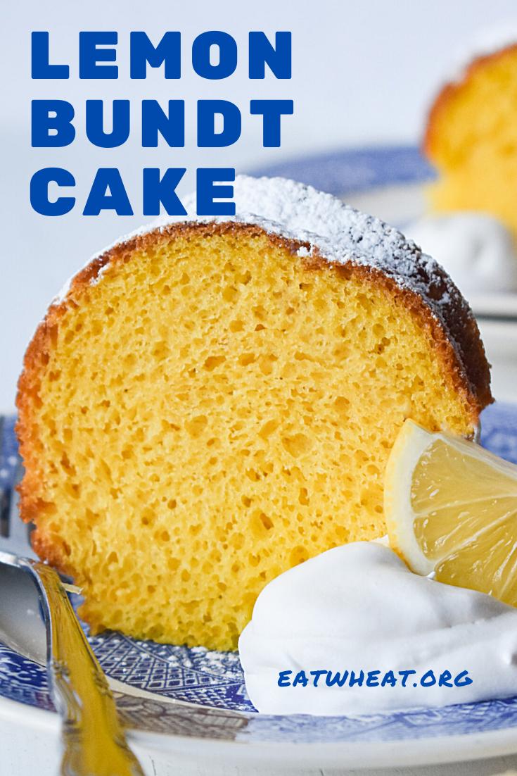 Image: Lemon Bundt Cake.