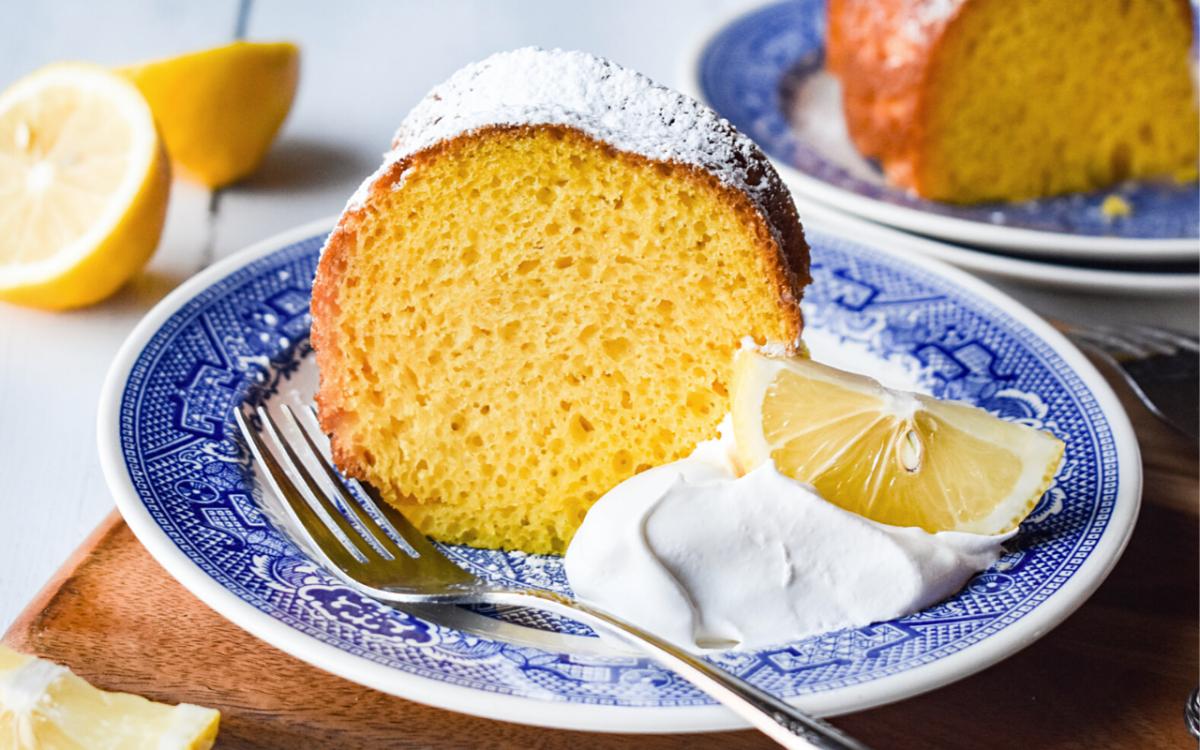 Photo: Lemon Bundt Cake.