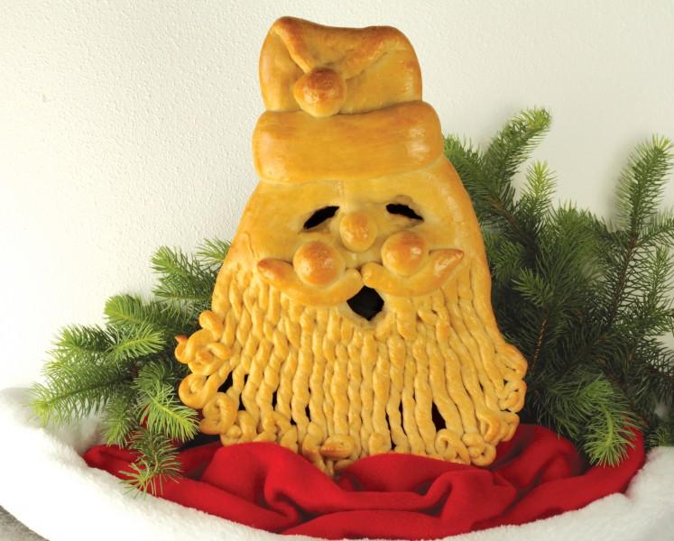 Image: Smiling Santa.