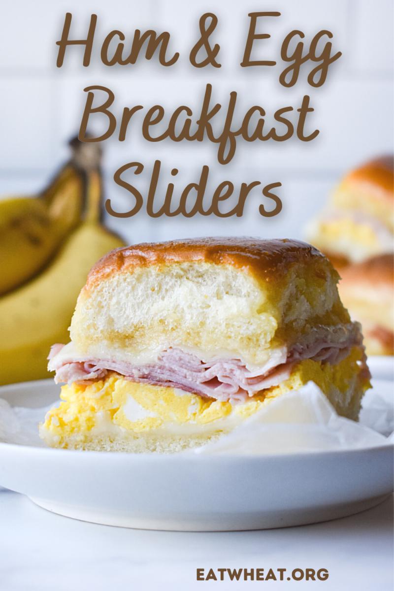 Image: Ham & Egg Breakfast Sliders.