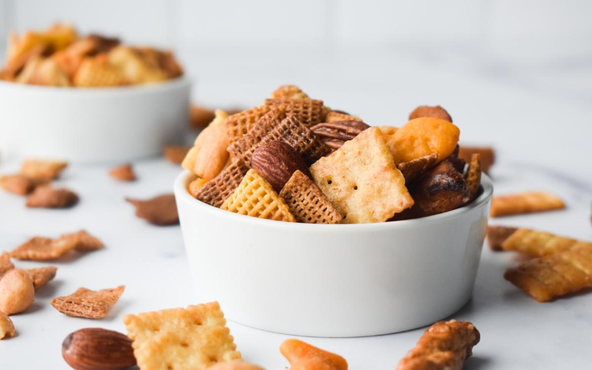 Photo: Whole Grain Snack Mix.