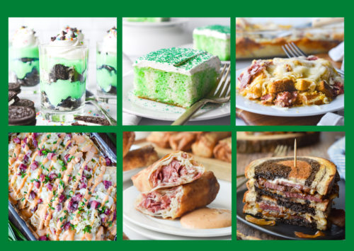 Photo: Recipes for St. Patrick's Day.