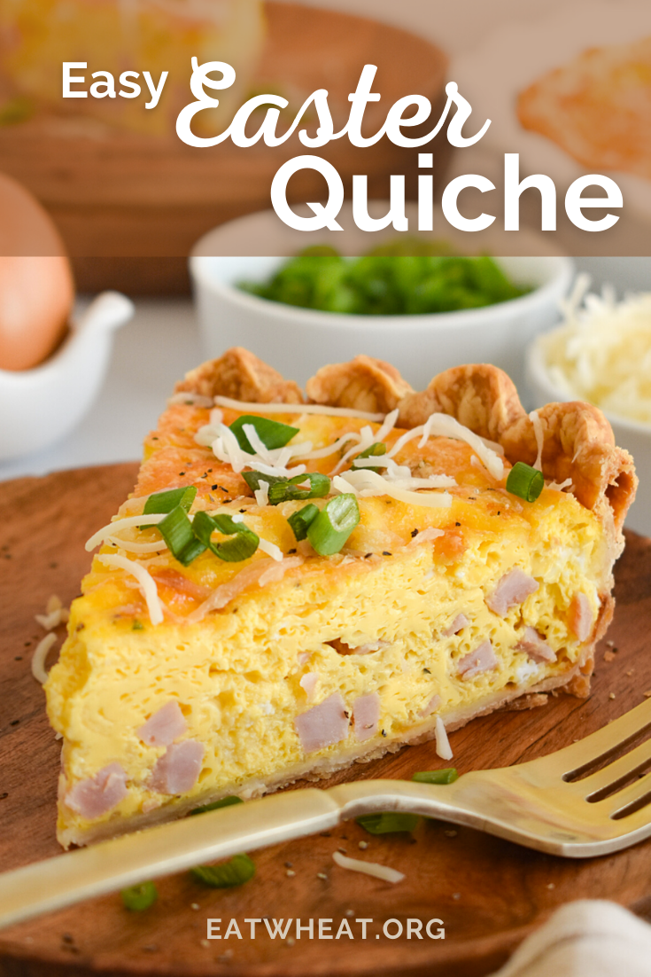 Image: Easy Easter Quiche.