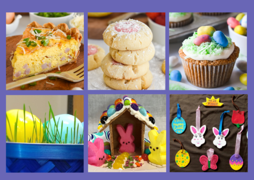 Image: Recipes and activities for Easter.