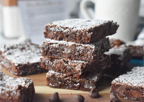 Photo: Chewy Chocolate Brownies.