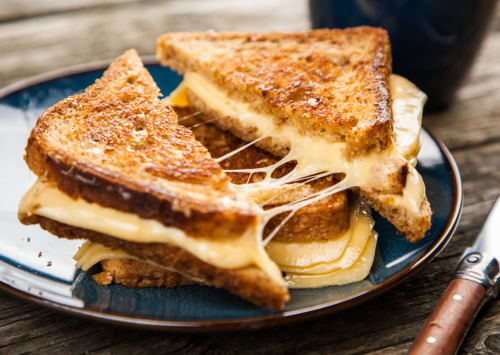 Photo: Grilled Cheese Sandwich.