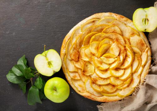 Celebrate National Apple Pie Day with a tasty apple pie.