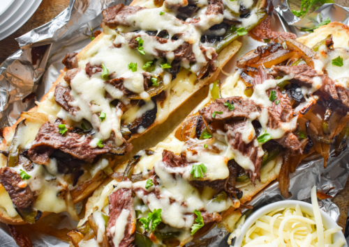 Philly Cheese Steak French Bread