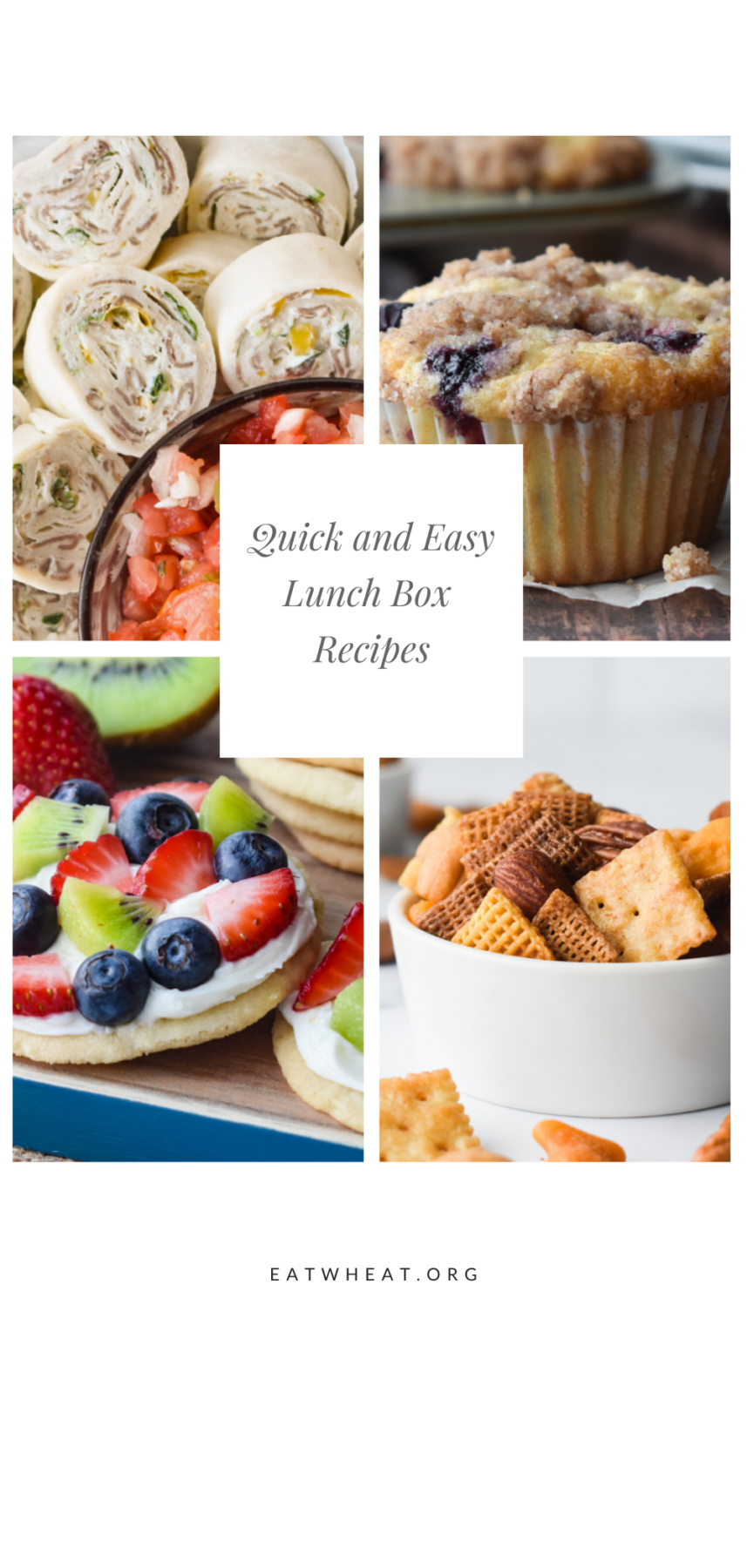 Looking to level up your kiddos lunch box? We've got easy lunch box recipes just for you!