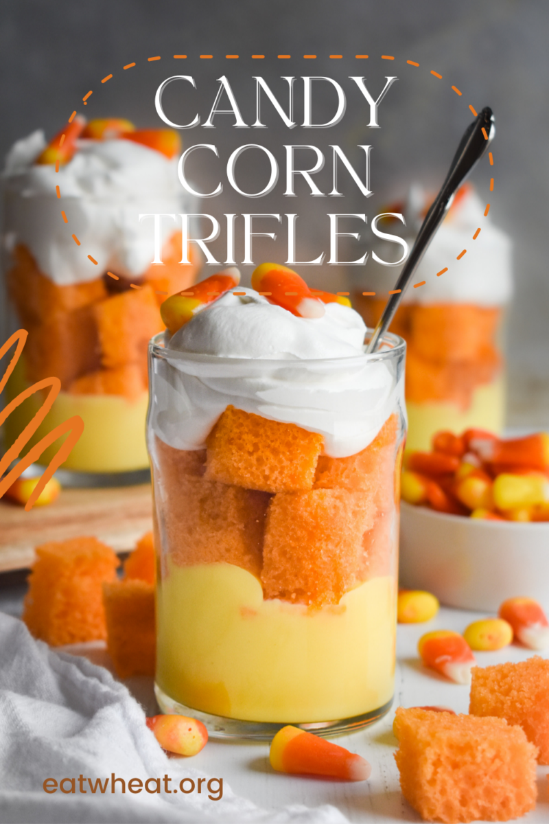 Image: Candy Corn Trifles.