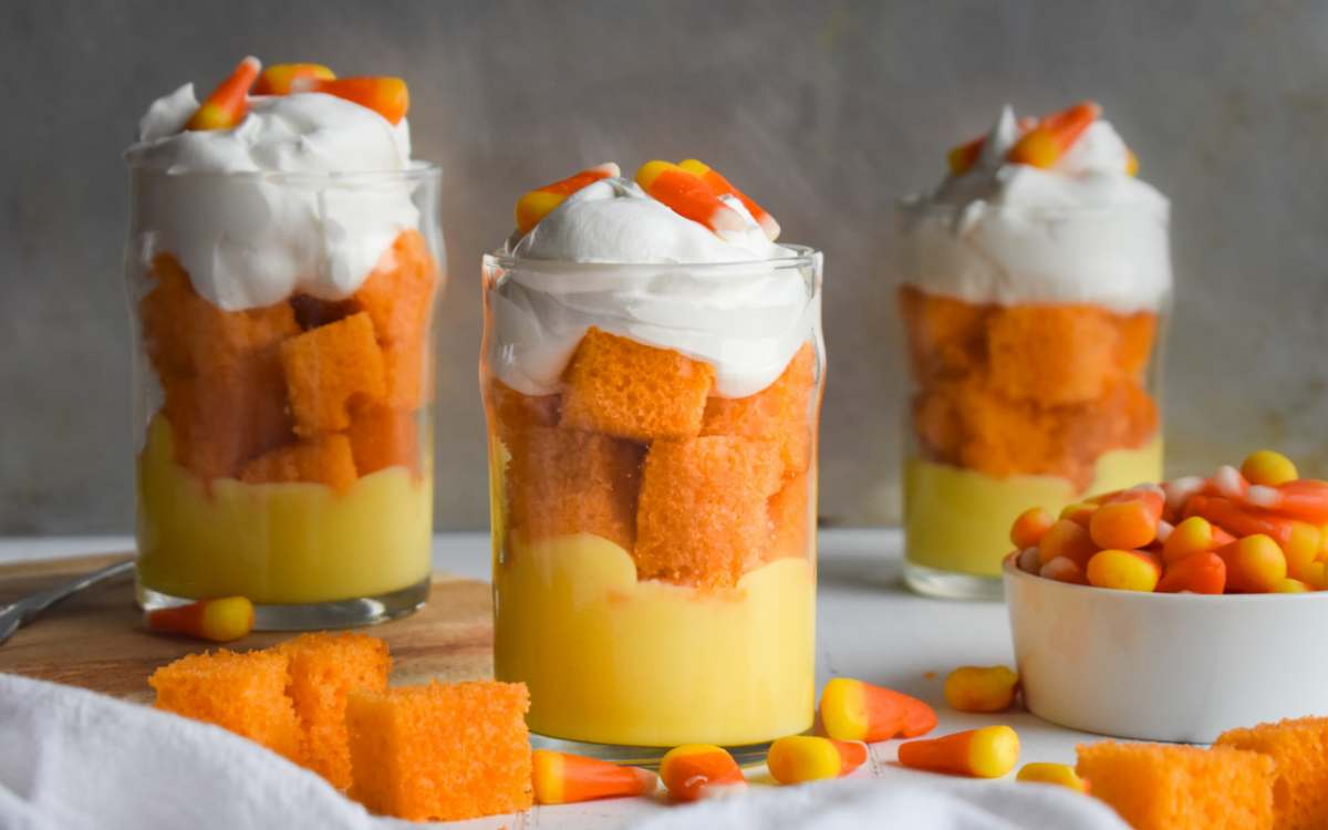 Photo: Candy Corn Trifles.